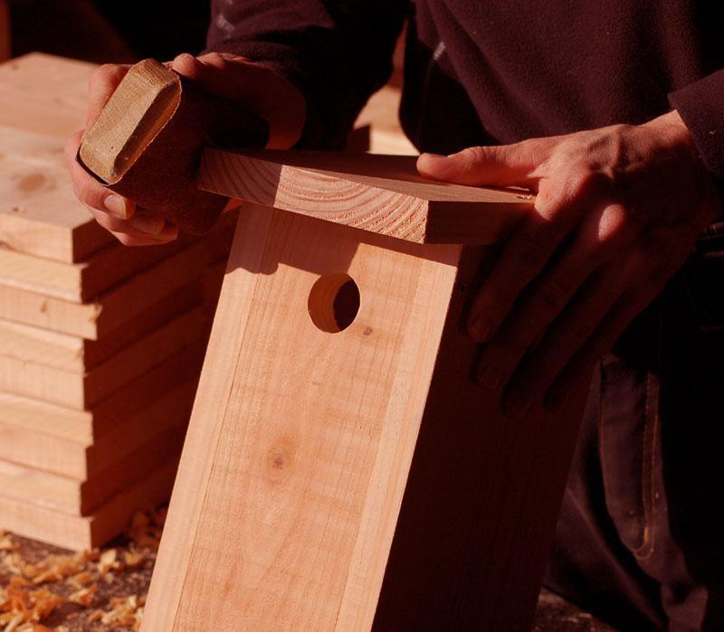 Fuglekasser fremstillet i hånden