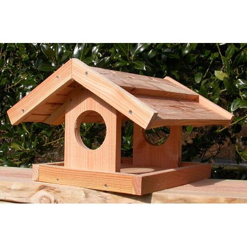 Fuglefoderhuse af douglasgran